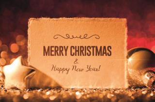 Bild von 00. Geschenkverpackung Motiv MERRY CHRISTMAS